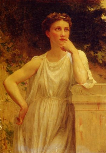 A Wistful Moment | Guillaume Seignac | oil painting