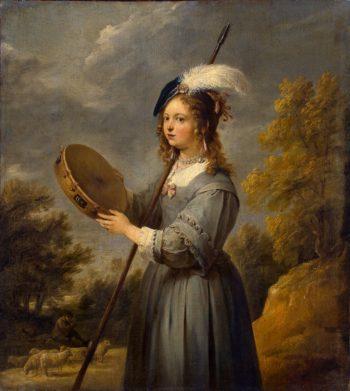 Shepherdess | Teniers David II | oil painting