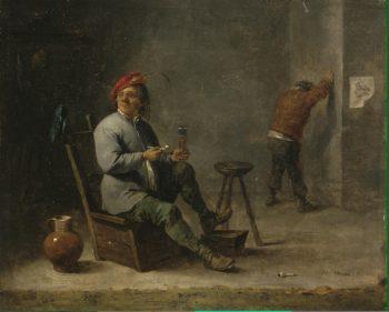 Smoker | Teniers David II | oil painting