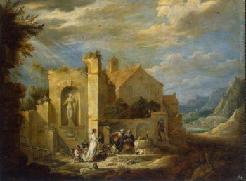 Temptation of St Antony | Teniers David II | oil painting