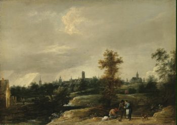 View of the Environs of Brussels | Teniers David II | oil painting