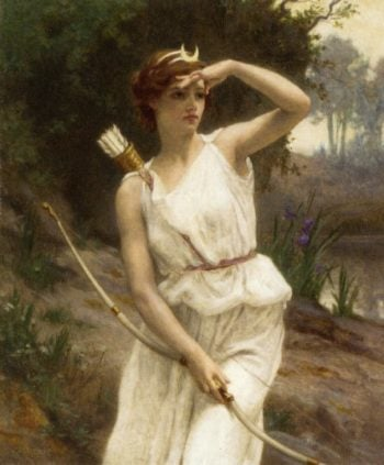 Diana the Huntress | Guillaume Seignac | oil painting