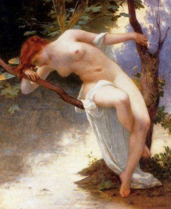 La Libellule | Guillaume Seignac | oil painting