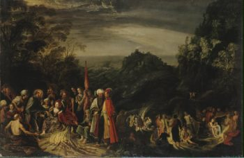 Miracle of St Paul on the Island of Malta | Teniers David I | oil painting