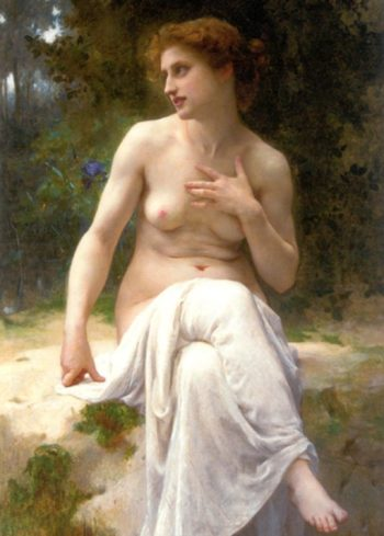 Nymphe | Guillaume Seignac | oil painting