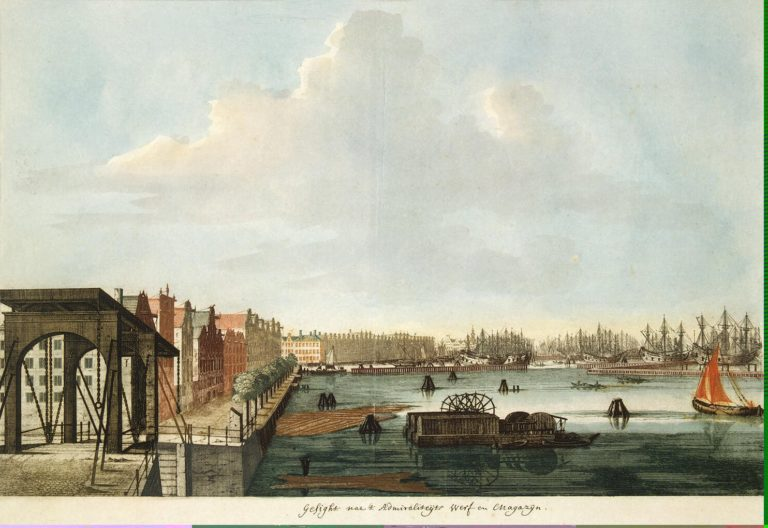 Admiralty Shipyard   Teyler Johannes   oil painting