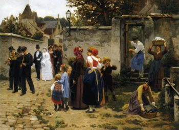 The Wedding Procession | Guillaume Seignac | oil painting