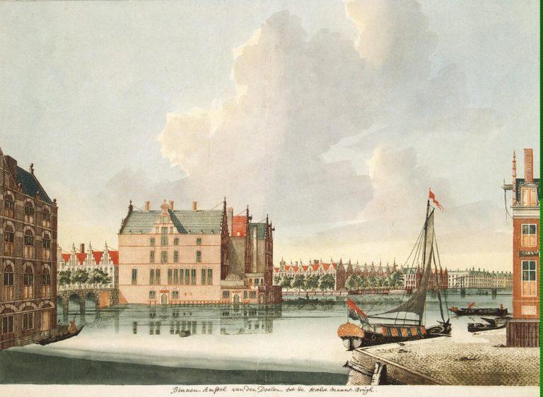 View toward the Amstel River | Teyler Johannes | oil painting
