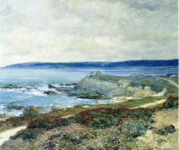 A Grey Day Carmel | Guy Orlando Rose | oil painting