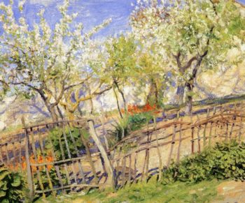 Blossoms and Wallflowers | Guy Orlando Rose | oil painting
