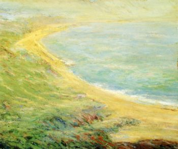 Bluff at Pourville | Guy Orlando Rose | oil painting