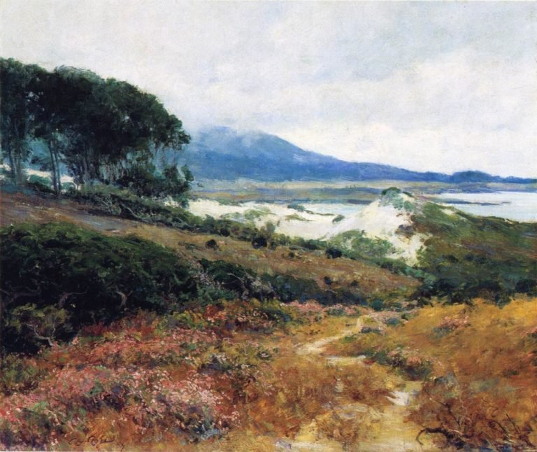 California Poppy Field | Guy Orlando Rose | oil painting