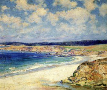 Carmel Beach | Guy Orlando Rose | oil painting