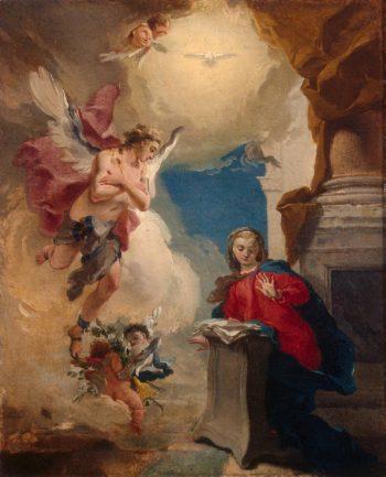 Annunciation | Tiepolo Giovanni Battista | oil painting