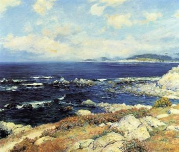 Carmel Coast | Guy Orlando Rose | oil painting