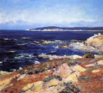 Carmel Seascape1 | Guy Orlando Rose | oil painting