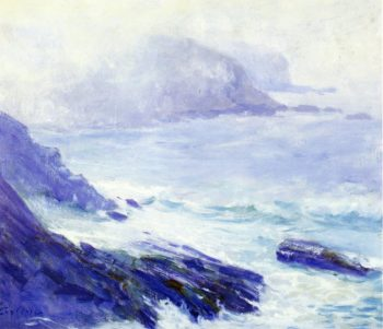 Coastline | Guy Orlando Rose | oil painting