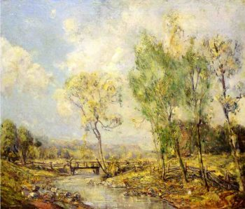 Country Landscape | Guy Orlando Rose | oil painting