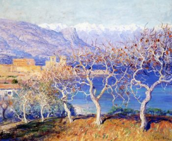 Fig Trees Antibes | Guy Orlando Rose | oil painting