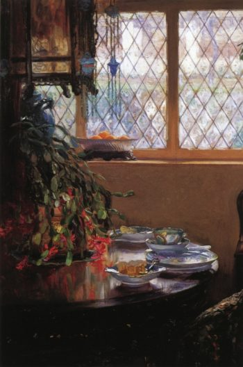 From the Dining Room Window 1910 | Guy Orlando Rose | oil painting