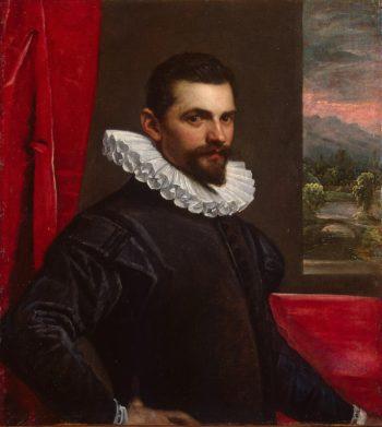 Portrait of a Man (Francesco Bassano) | Tintoretto Domenico (Domenico Robusti) | oil painting