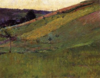Giverny Hillside 1891 | Guy Orlando Rose | oil painting