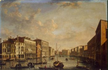 View of the Grand Canal | Tironi Francesco | oil painting