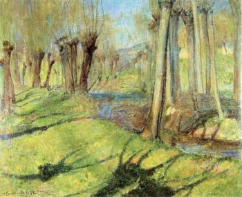 Giverny Willows 1891 | Guy Orlando Rose | oil painting