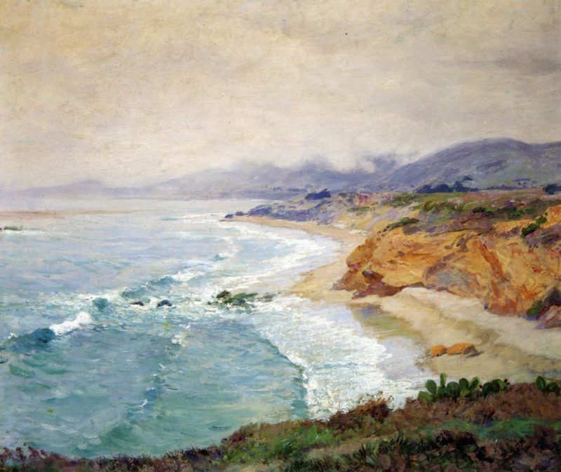 Lifting Fog Laguna | Guy Orlando Rose | oil painting