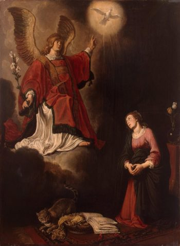 Annunciation | Lastman Pieter | oil painting