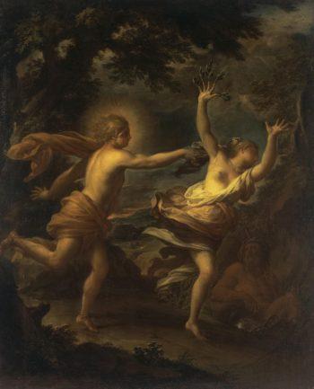 Apollo and Daphne | Trevisani Francesco | oil painting
