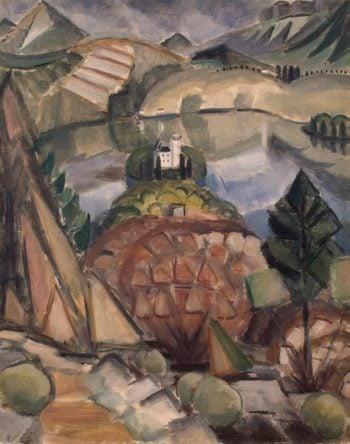Lake   Le Fauconnier Henri   oil painting