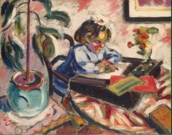 Little Schoolgirl   Le Fauconnier Henri   oil painting