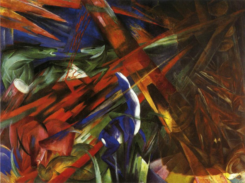 Animal Destinies (aka The Trees show their Rings, the Animals their Veins) Franz Marc