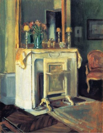 Interior of our Apartment 6 rue Victor Considerant 1905 | Alson Skinner Clark | oil painting