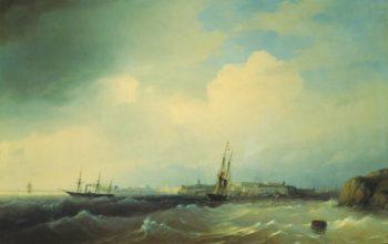 Sveaborg | Ivan Aivazovsky | oil painting