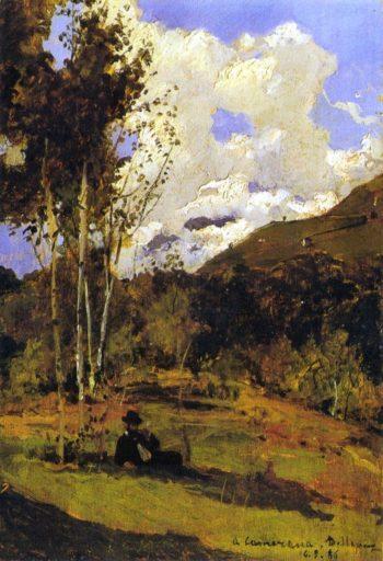 A Camerana 1886 | Lorenzo Delleani | oil painting