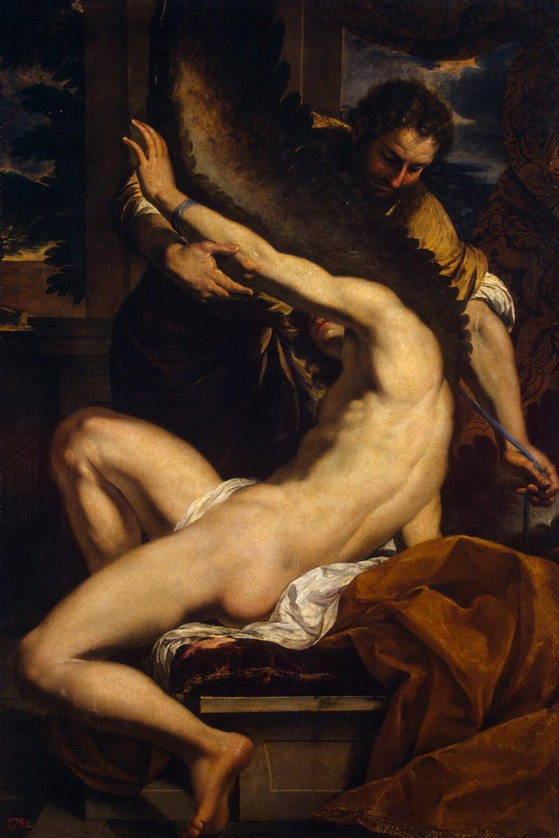 Daedalus and Icarus | Lebrun Charles | oil painting