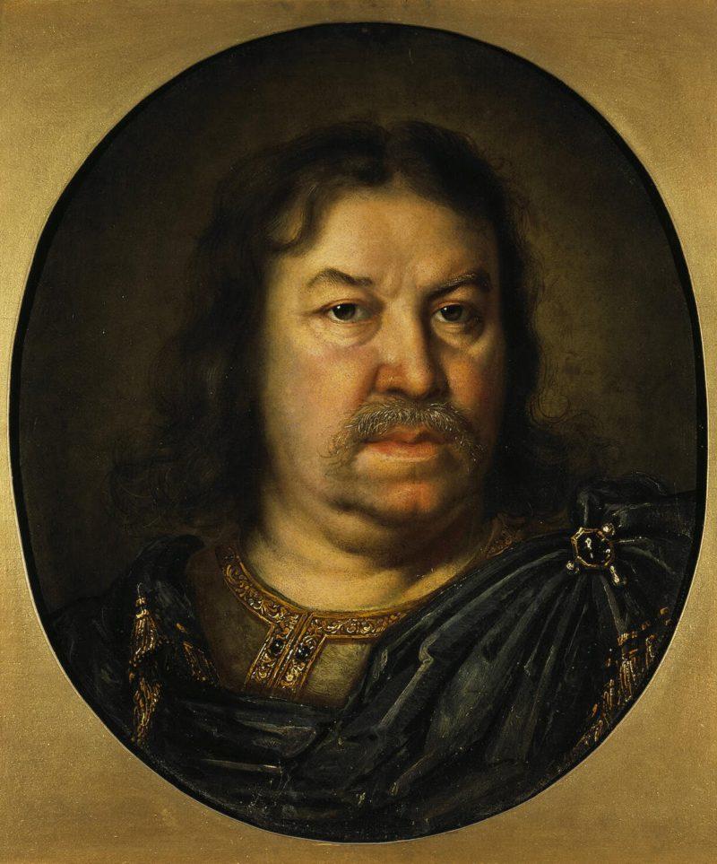 Portrait of Senator Ya.F. Dolgoruky   Lebrun Charles   oil painting