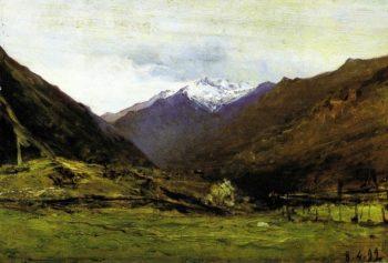 Ultime nevi 1899 | Lorenzo Delleani | oil painting