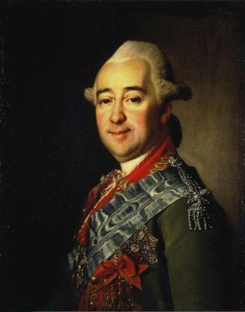 Portrait of Mikhail Krechetnikov | Levitsky Dmitry Grigorievich | oil painting