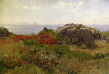 Sunny Morning Cape Ann Massachusetts | Charles Francis Browne | oil painting