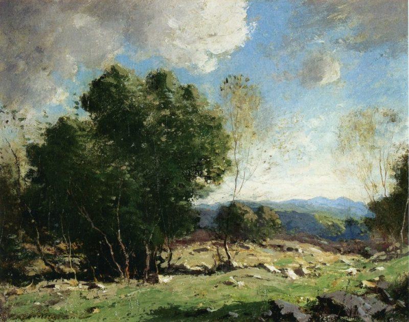 Sunny Pastures | George M Bruestle | oil painting