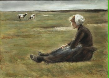 In the Field   Liebermann Max   oil painting