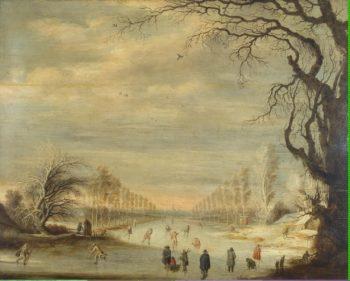 Winter Landscape   Lijtens Cijsbrecht   oil painting