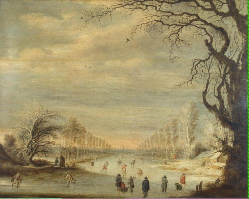 Winter Landscape | Lijtens Cijsbrecht | oil painting