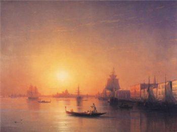 Venice | Ivan Aivazovsky | oil painting