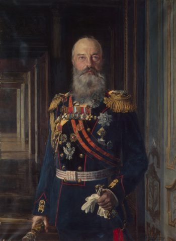 Portrait of Grand Prince Mikhail Nikolayevich | Liphart Ernst Karlovich | oil painting