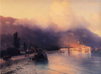 View of Yalta | Ivan Aivazovsky | oil painting