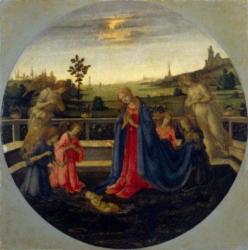 Adoration | Lippi Filippino | oil painting